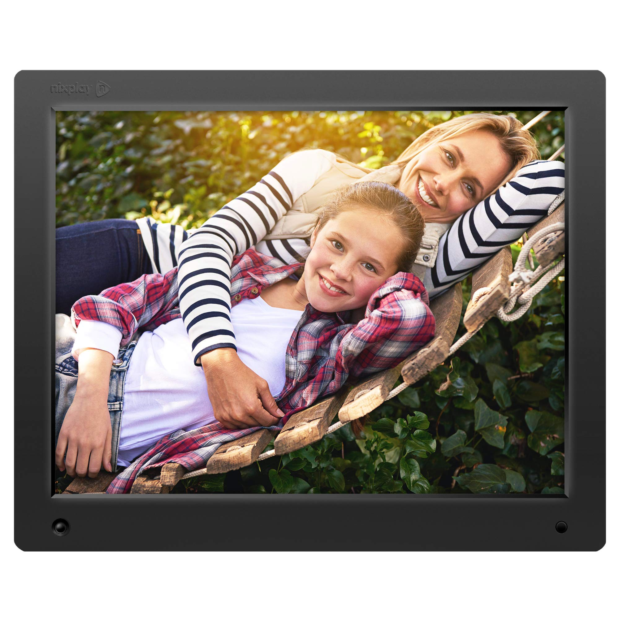 Nixplay Original 15 inch WiFi Cloud Digital Photo Frame. iPhone & Android App, Email