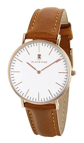 0fb86d77a79 BLACK OAK - Watch - BX5790R-002W Rose Gold  Amazon.co.uk  Watches