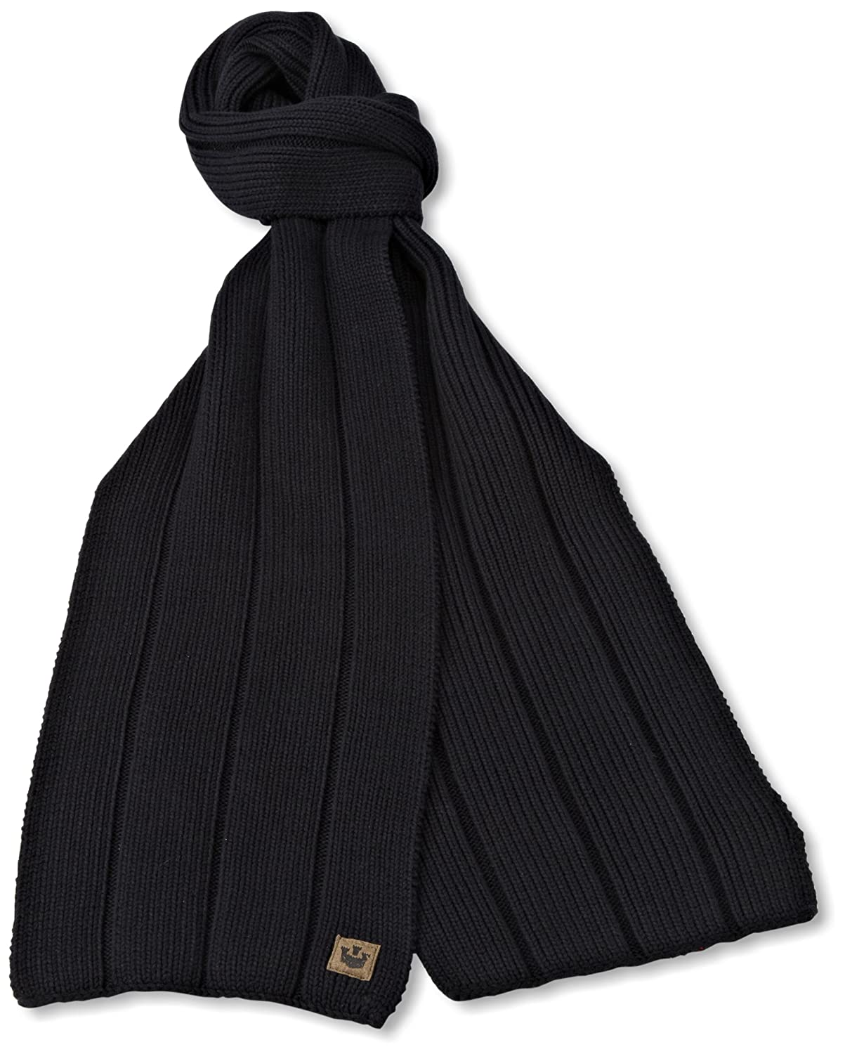 Goorin Bros. Men's Aegean Sea Scarf Black One Size Goorin Bros Mens 120-2498-BLK