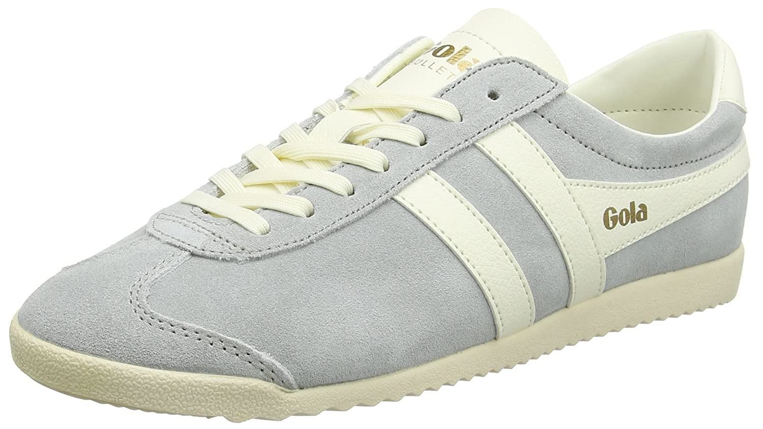 Gola Bullet Suede, Botines para Mujer 39 EU|Gris (Pale Grey/Off White)
