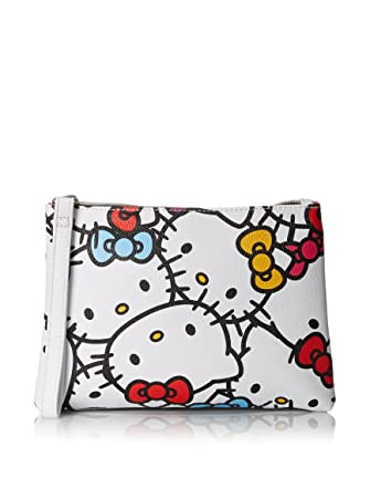 bbcc0657a Image Unavailable. Image not available for. Color: Hello Kitty Faux Leather Clutch  Purse ...