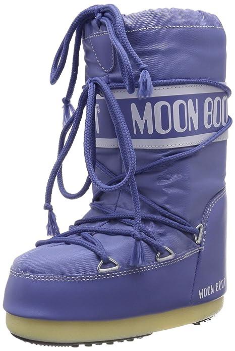 Moon-boot Nylon, Botas de Nieve Unisex Niños