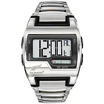 2e9620e2f218b All Blacks Homme Digital Quartz Montre avec Bracelet en Acier Inoxydable  680361