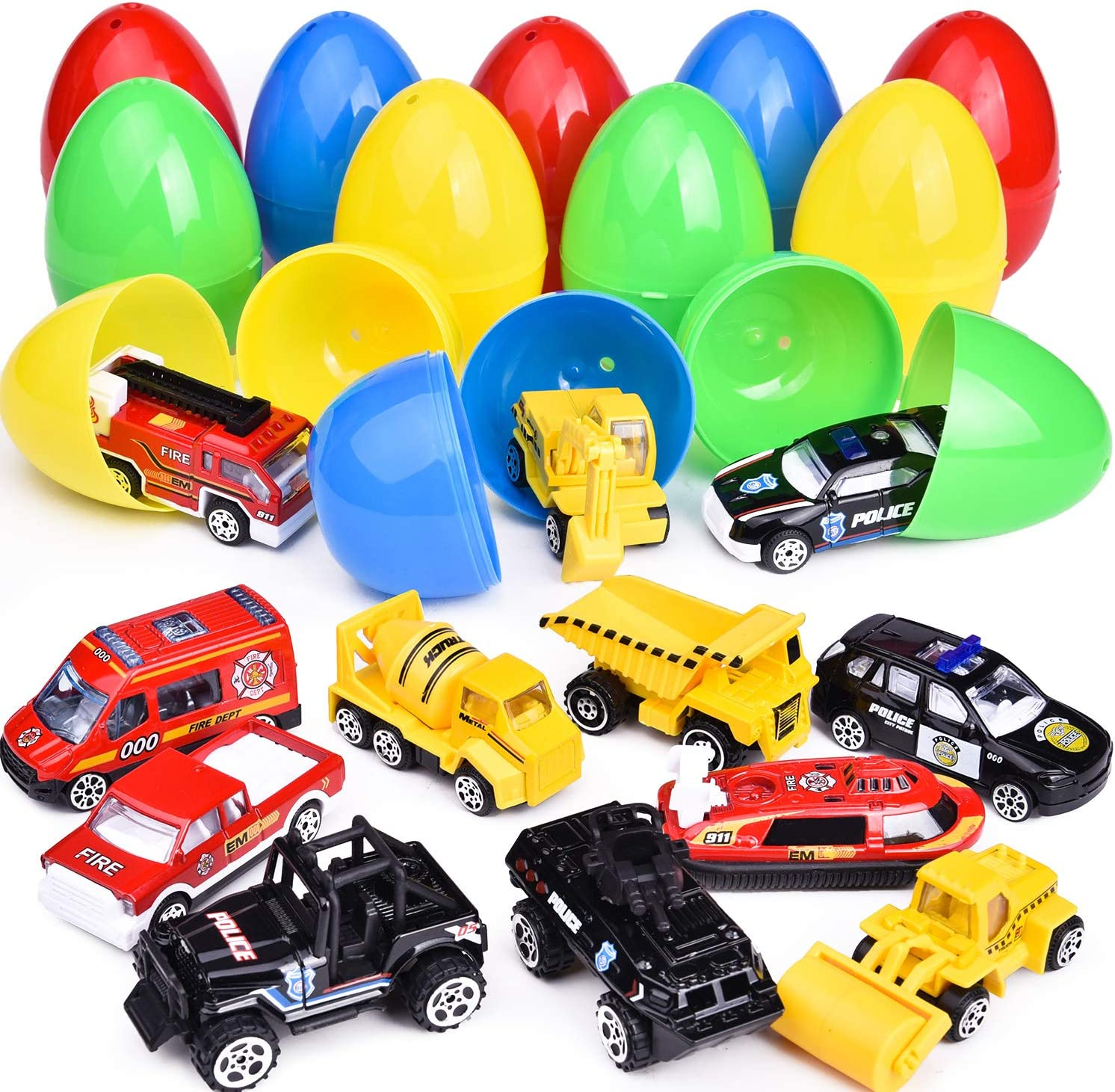 united states official images classic shoes 12 PCs Diecast Cars, Surprise Eggs for Halloween Party Favor, 3.15 Inch  Surprise Eggs, Halloween Toys