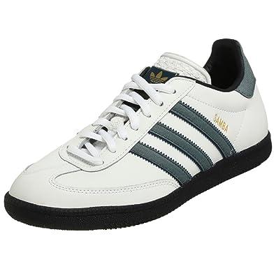 new style cost charm classic styles Adidas Samba 80 Soccer Shoe, White/Indigo/Blue, 13 M US: Buy ...