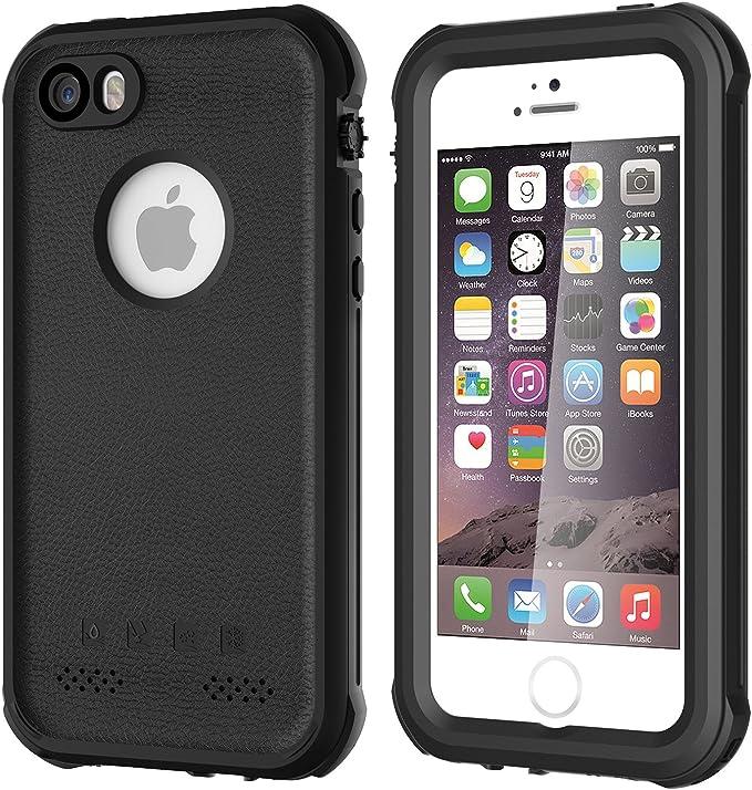 ASAKUKI Coque étanche pour iPhone 5 5S SE 2016 IP68 Coque ...