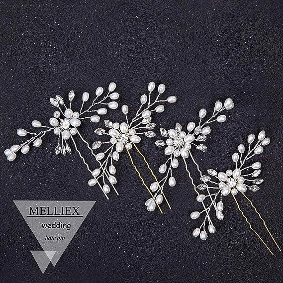 Bridal Rose Flower Hair Clip Hairpin Brooch Wedding Accessorie Bridesmai ZSHWC