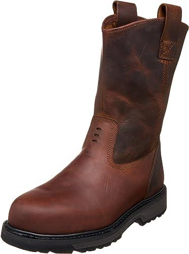 | Timberland PRO Men's Steel Toe Wellington Boot
