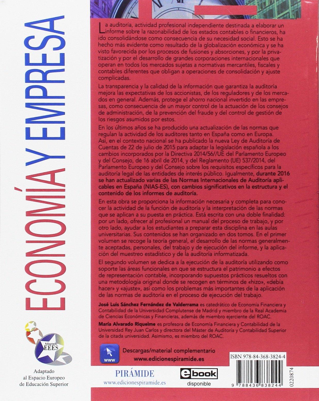 Teoría y práctica de la auditoría II: Análisis de áreas y casos prácticos Economía Y Empresa: Amazon.es: José Luis Sánchez Fernández de Valderrama, ...