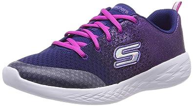 76b16b56c4c5 Skechers Girls  Go Run 600-sparkle Speed Trainers  Amazon.co.uk ...