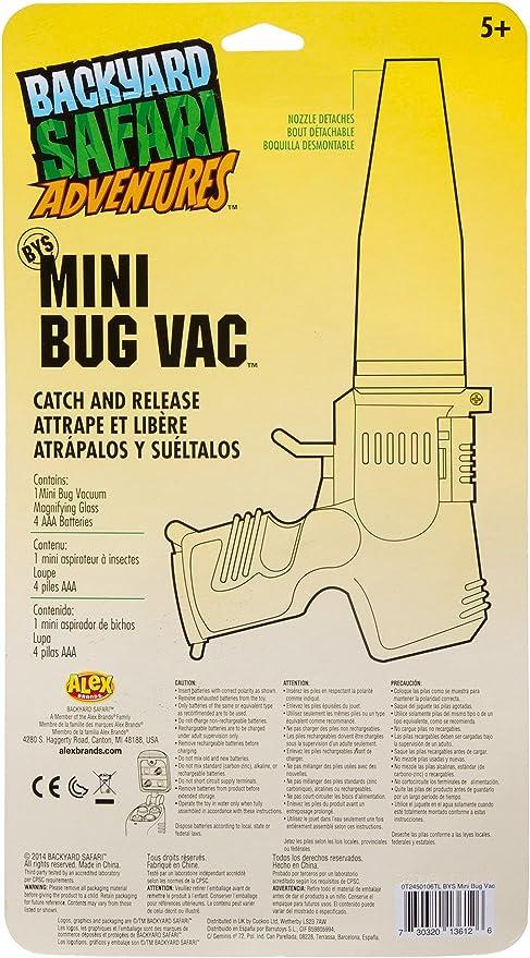 Backyard Safari - Mini Aspirador de Insectos (Juratoys 0T2450106TL): Amazon.es: Juguetes y juegos