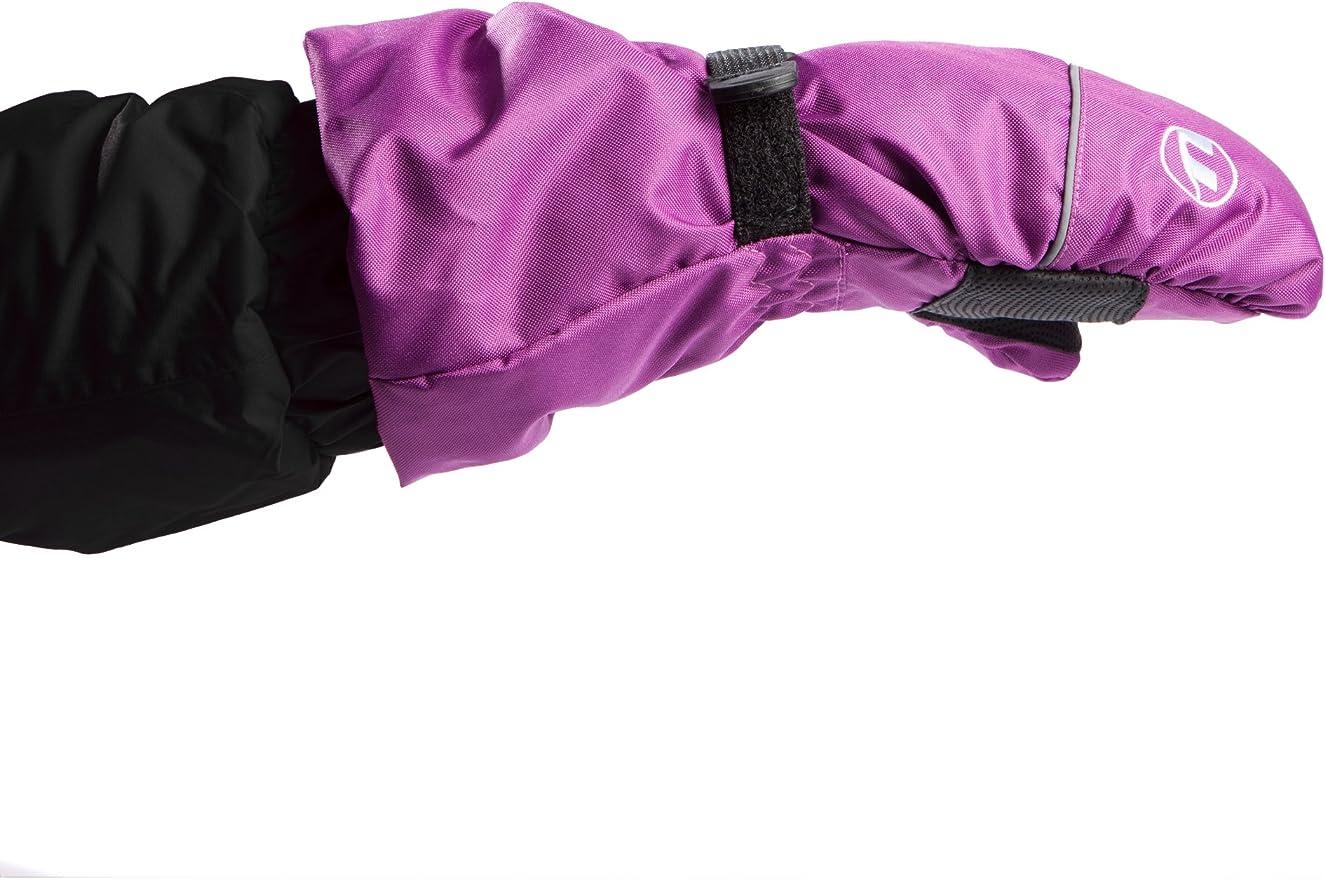 manche extra longues Noir Noir 2-4 ans Ultrasport Extensions de gants pour enfant