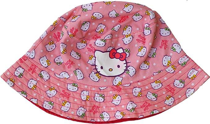 25ed0fa62 Girls - Hello Kitty Summer Sun Hat: Amazon.co.uk: Clothing