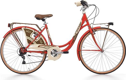26 Pulgadas Cinzia decoville Mujer City Bicicleta 6 velocidades ...