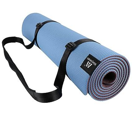 matymats esterilla de yoga con correa antideslizante Super ...