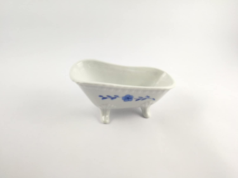 Abc/_ba/ño Jabonera Ba/ñera Porcelana Blanca