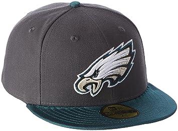 e55ab7a2c5f2e0 New Era Philadelphia Eagles Cap - Grey, 6 7/8, 11353587: Amazon.co ...
