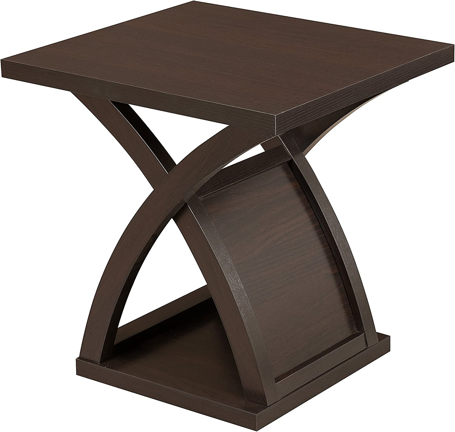 Furniture of America Verdugo End Table, Espresso