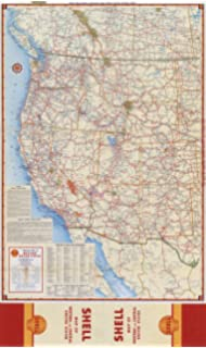 Amazon.com : ProGeo Maps Trucker's Wall Map of WEST COAST ... on montana map, usa map, western us map, oregon map, california map, utah map, nevada map, grand canyon map, western hemisphere map, wyoming map, western states and capitals map, western brazil map, alaska map, western upland map, british columbia map, western nigeria map, eastern us map, idaho map, colorado map, western continents map,