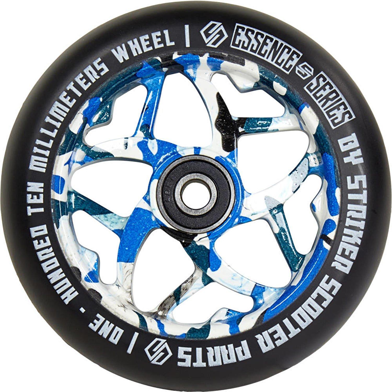 Striker esencia patinete rueda - azul camuflaje - 110 mm ...