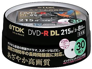 Amazon | TDK 録画用DVD-R DL(片...