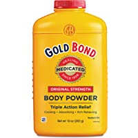 Gold Bond Medicated Powder, 10 Ounce Containers, Helps Soothe and Relieve Skin Irritations and Itching, Cools, Absorbs…