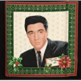 12.5 X 14.5 Wide Im Waiting Under the Mistletoe Christmas Elvis Presley Fabroc Panel 10 Iron On Patches Great for Quilting, Sewing, Craft Projects, a Quilt, Throw Pillows /& More