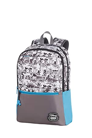 American Tourister Urban Groove Disney - Backpack Medium Mochila Tipo Casual, 40 cm, 16 Liters, (Mickey Comics Blue): Amazon.es: Equipaje