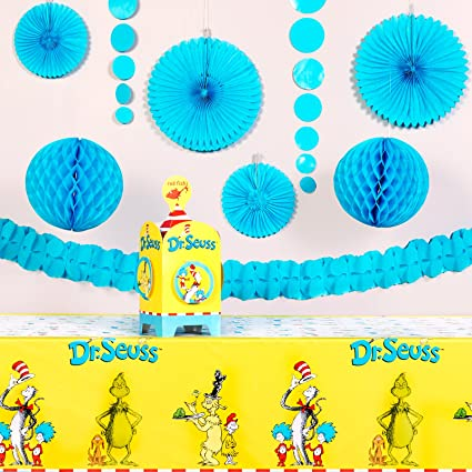 Amazoncom Dr Seuss Party Supplies Value Party Decoration Kit