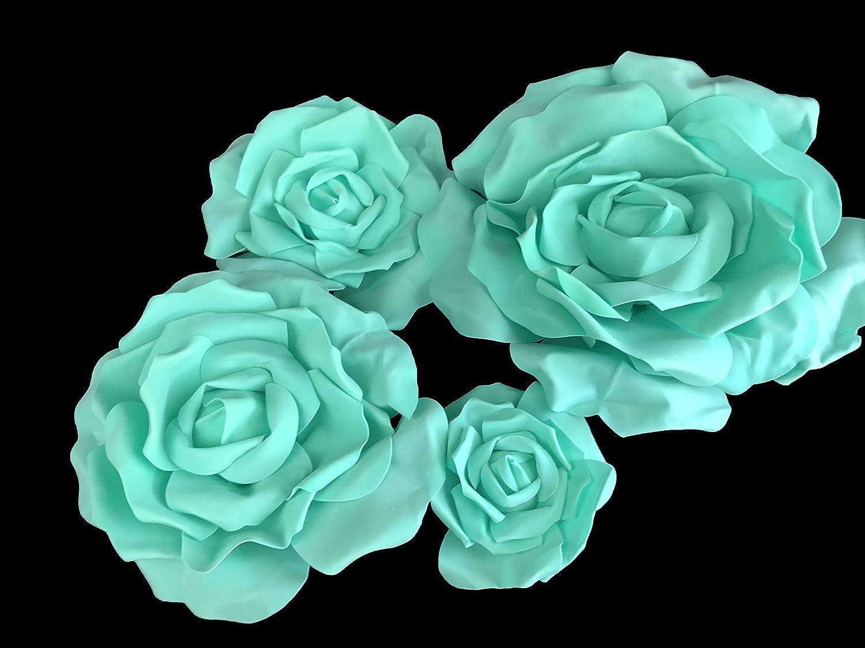 Amazon Set Of 4 Classic Elegant Giant Foam Flowersfloating