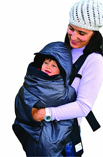 tivoli couture mommys hug baby carrier cover and wearable blanket london gray discontinued by - Carrier Cover