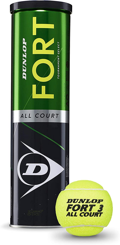 Dunlop Fort All Court TS Pelotas Tenis, Adultos Unisex, Amarillo ...