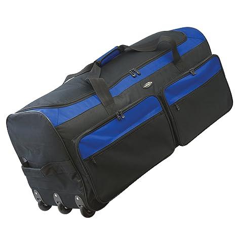 5329bd04d4d7 Travelers Club Luggage Space Saver 36 Inch Tri-fold Rolling Locker Duffel  Bag