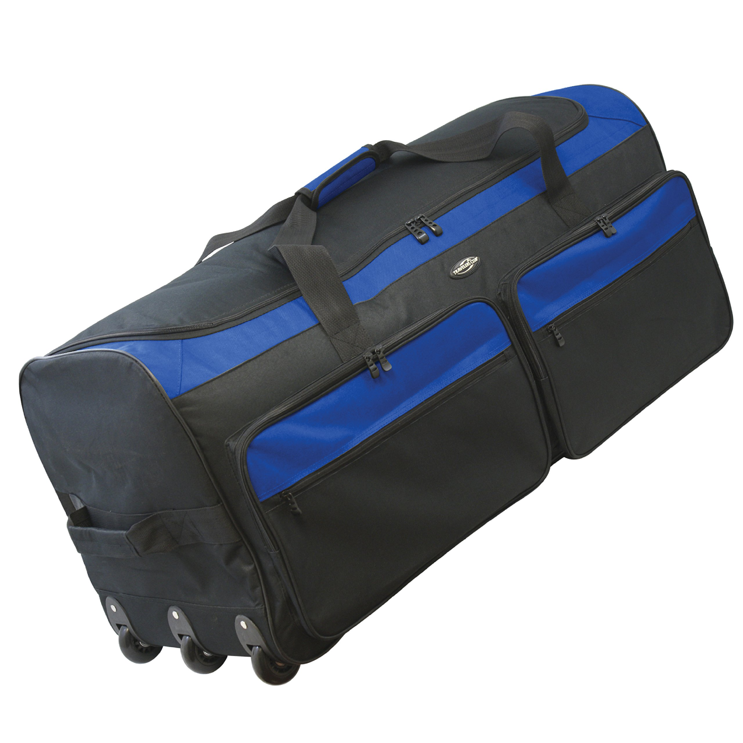 Travelers Club 36'' X-Large Expandable Triple Wheeled Rolling Duffel Luggage