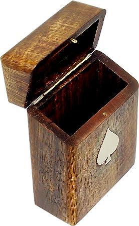 SKAVIJ Caja Decorativa Y Caja De Almacenamiento De Madera para ...