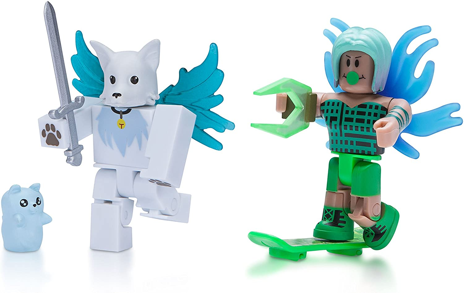 Roblox Celebrity Figure 2-Pack, LA Hoverboarder and Ghost Forces: Phantom