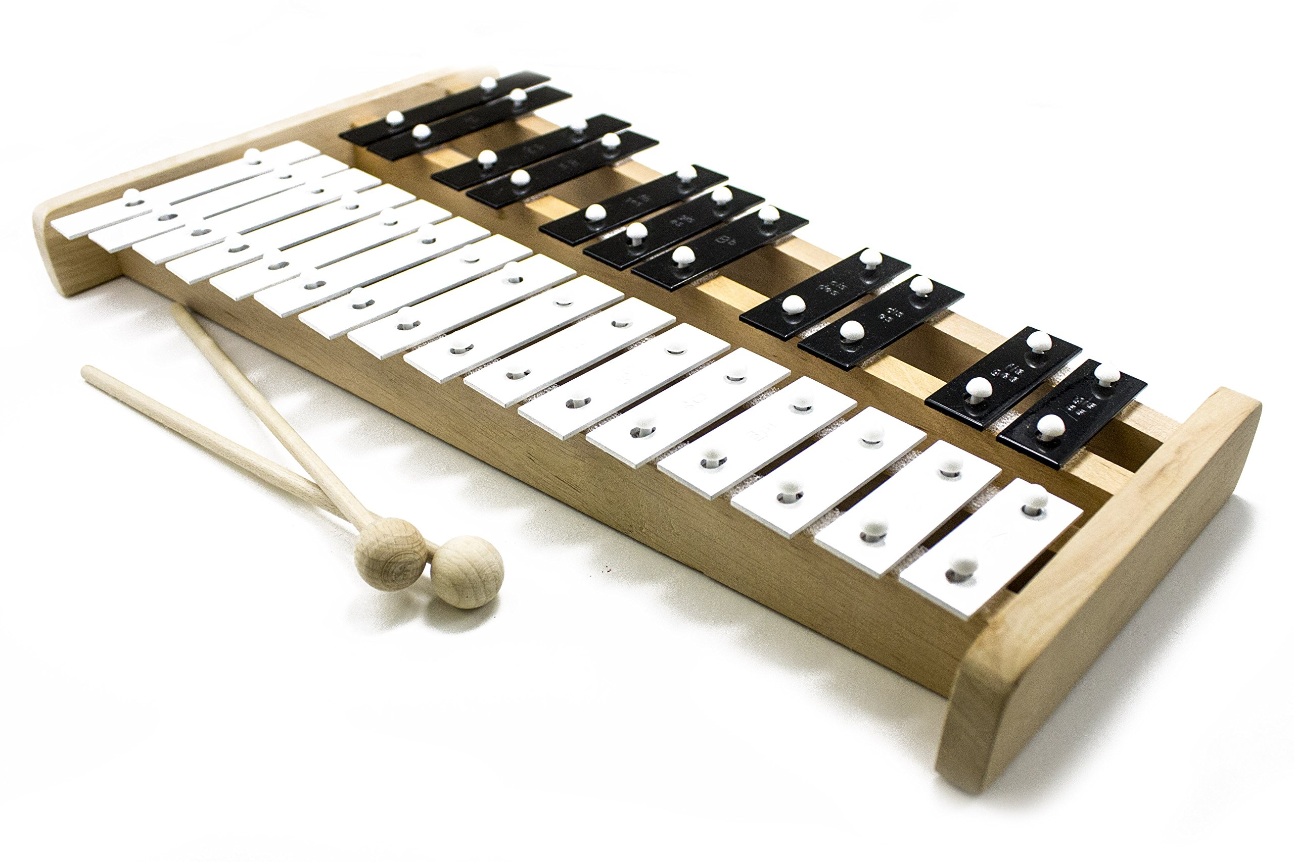 ProKussion Professional Wooden Soprano Glockenspiel Xylophone with Cover (X-Series) by Pro Kussion