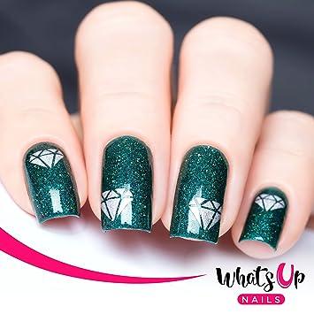 Amazon Whats Up Nails Diamond Gemstone Nail Stencils
