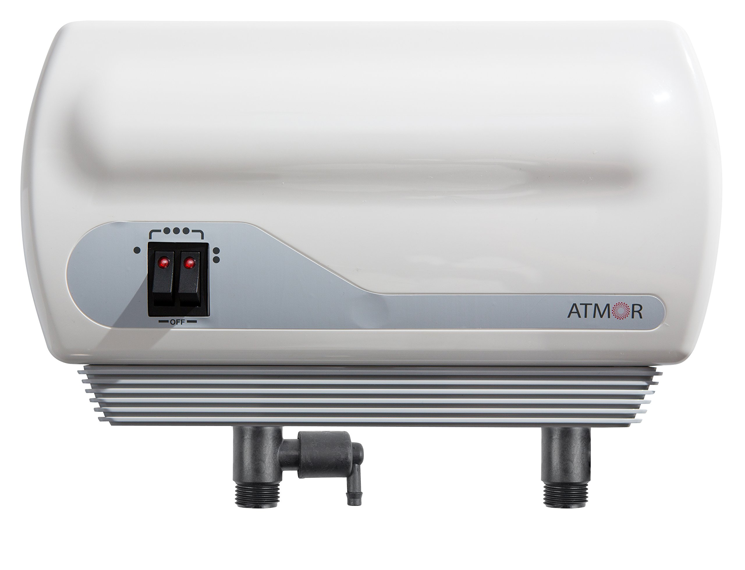 Atmor 0.5 GPM Point-Of-Use Tankless Electric Instant Water Heater with Pressure Relief Device (PRD) and 0.5 GPM Sink Aerator, SINGLE SINK APPLICATION