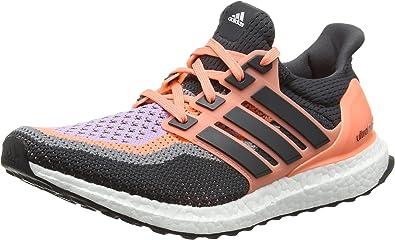 adidas Ultra Boost W, Zapatillas de Running para Mujer, Naranja/Negro/Morado (Brisol/Grpudg/Brimor), 40 2/3 EU: Amazon.es: Zapatos y complementos