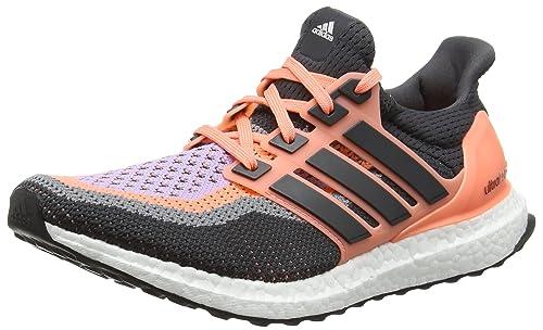 adidas Ultra Boost W, Zapatillas de Running para Mujer, Naranja/Negro/Morado (Brisol/Grpudg/Brimor), 36 2/3 EU: Amazon.es: Zapatos y complementos