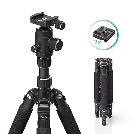 PAZZiMO trípode/monopié cámara Aluminio Negro 152 cm, trípode para ...