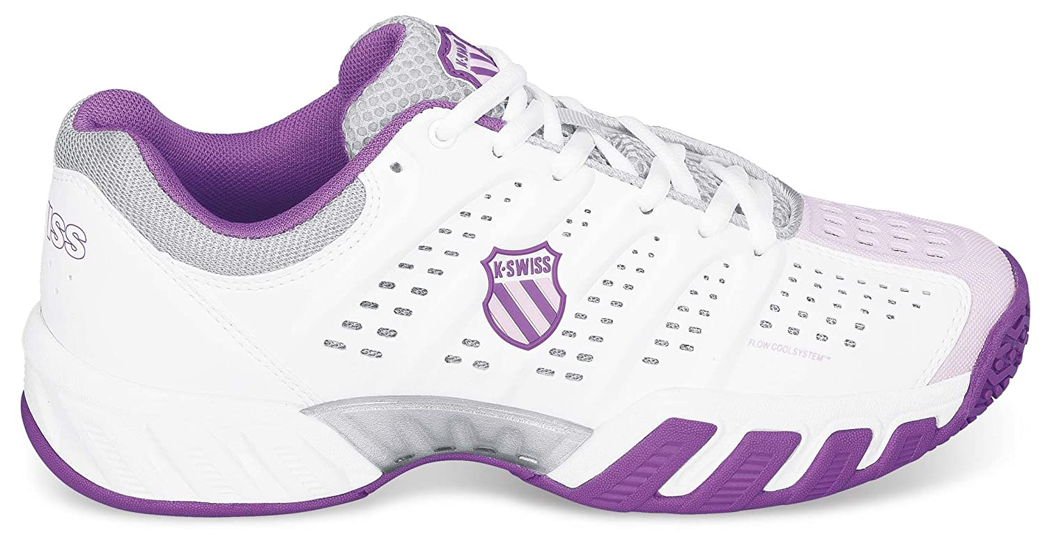 K-Swiss Zapatillas Bigshot Light Omni Blanco/Morado EU 37.5 Ru1ntldVjZ