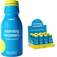 Morning Recovery: Patent-Pending Liver Detox Drink (Pack of 12) - New & Improved Original Lemon Flavor - Highly…