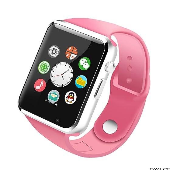 Amazon.com: OWLCE Smart Watch Wireless Bluetooth Wrist Watch ...
