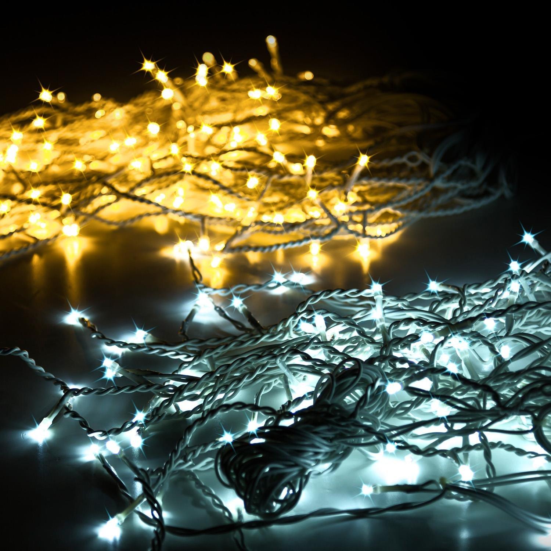 81BZJvc997L._SL1500_ Schöne Led Eiszapfen Lichterkette Mit Schneefall Effekt Dekorationen