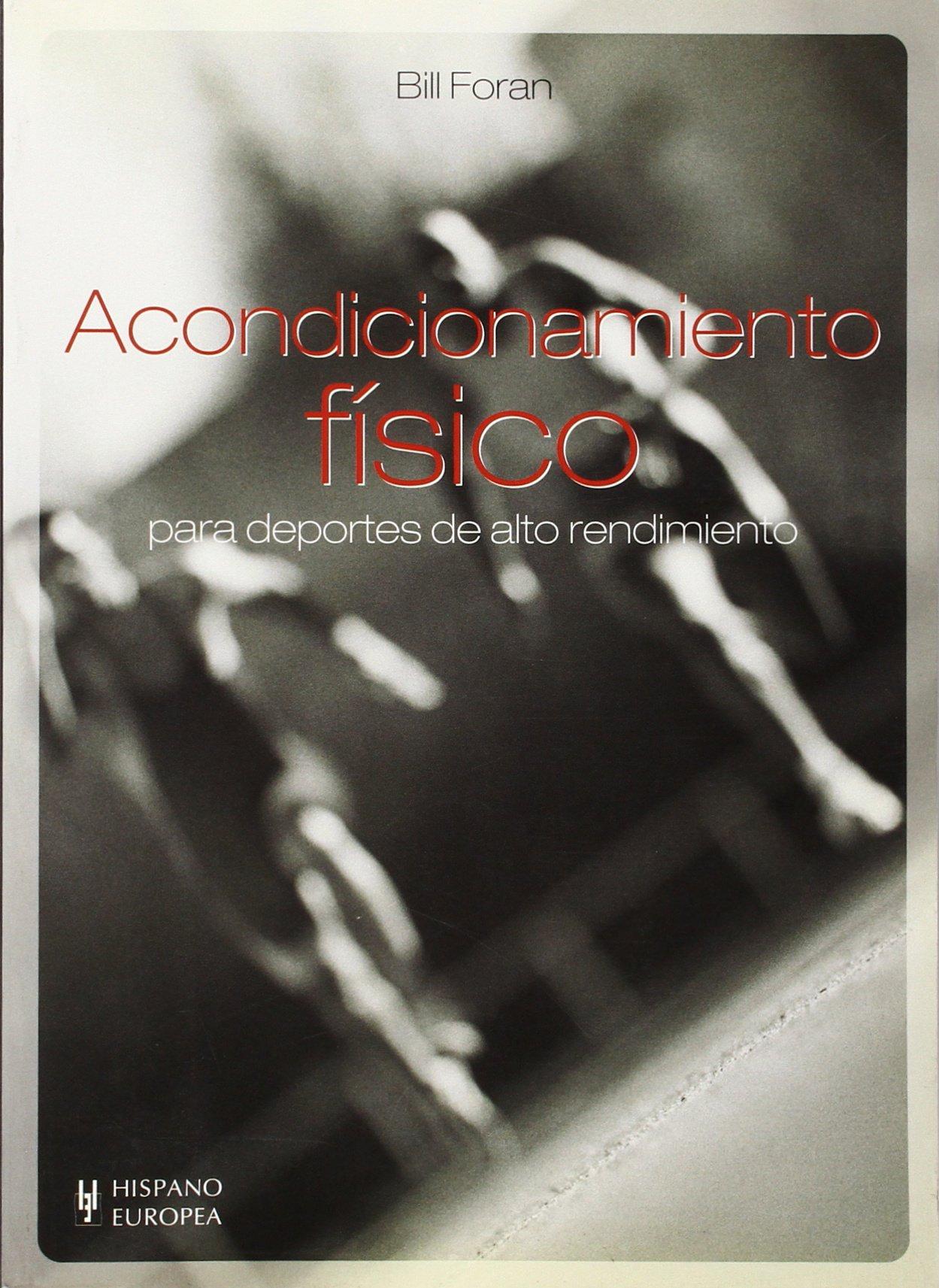 Download Acondicionmiento fisico para deportes de alto rendimiento (Spanish Edition) PDF