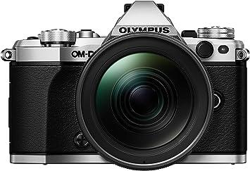 Olympus OM-D E-M5 Mark II Kit, Cámara de Sistema Micro Cuatro Tercios (16,1 MP, Estabilizador de Imagen de 5 Ejes, Visor Electrónico) + Objetivo Mo 12-40mm PRO Universal, plata/negro