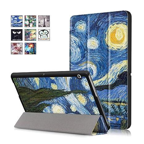 Modello 03 ELTD Huawei MediaPad T3 10 Cover Custodia Slim Smart ...