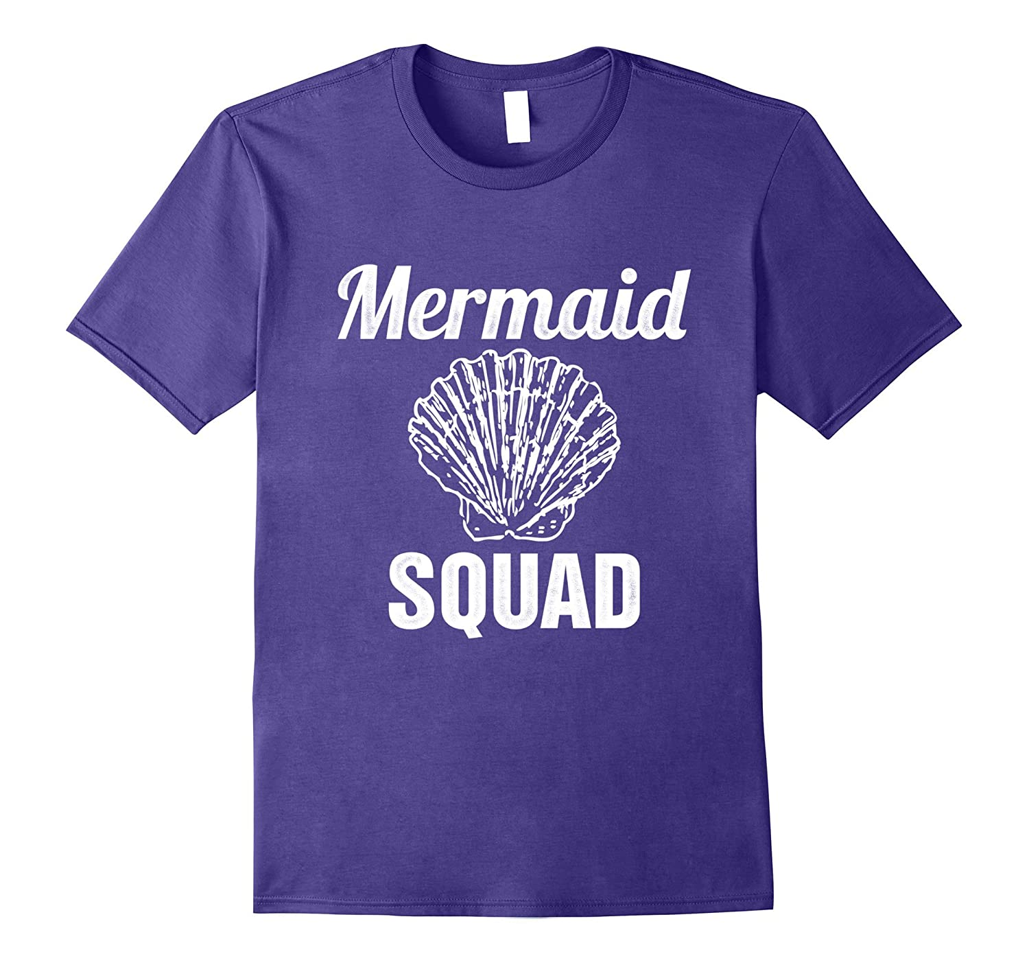 Awesome Mermaid Squad T-shirt Cute Mermaid Clam Shirt-CD